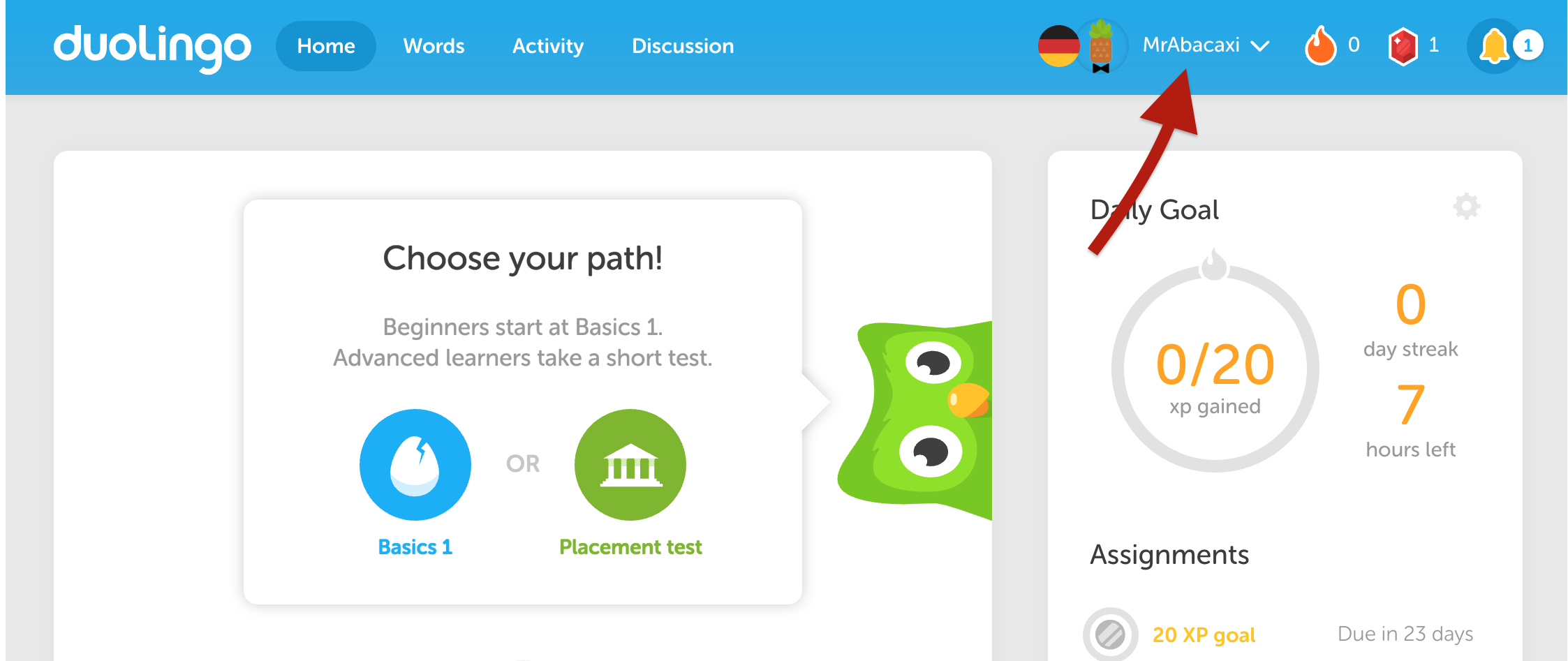 What is my username? – Duolingo Help Center